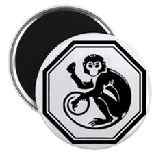 "Year Of The Monkey 2.25"" Magnet (100 pack)"