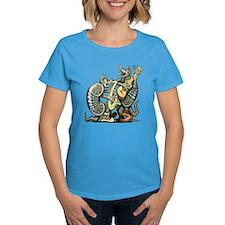 3-DillosMusicDARK copy T-Shirt