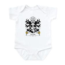 Lewis Family Crest Infant Bodysuit