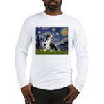 Starry Night / Welsh Corgi Long Sleeve T-Shirt