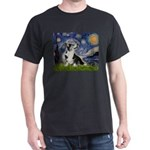 Starry Night / Welsh Corgi Dark T-Shirt
