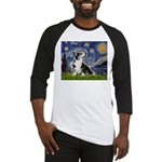 Starry Night / Welsh Corgi Baseball Jersey
