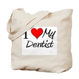 I Heart My Dentist Tote Bag