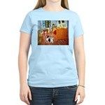 Room / Corgi pair Women's Light T-Shirt