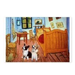 Room / Corgi pair Postcards (Package of 8)