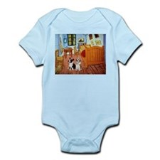 Room / Corgi pair Infant Bodysuit