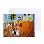 Room / Corgi pair Greeting Cards (Pk of 10)