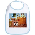 Room / Corgi pair Bib