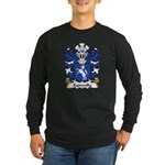 Kydwelly Family Crest Long Sleeve Dark T-Shirt