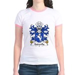Kydwelly Family Crest Jr. Ringer T-Shirt