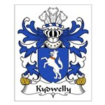 Kydwelly Family Crest Small Poster