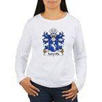 Kydwelly Family Crest Women's Long Sleeve T-Shirt