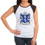Kydwelly Family Crest Women's Cap Sleeve T-Shirt