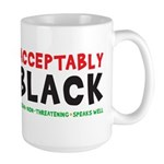 Acceptably Black Coffee Mug