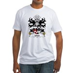 Johns Family Crest Fitted T-Shirt