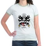 Johns Family Crest Jr. Ringer T-Shirt