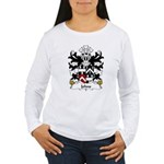 Johns Family Crest Women's Long Sleeve T-Shirt