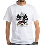 Johns Family Crest White T-Shirt