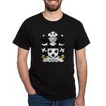 Jenkes Family Crest Dark T-Shirt