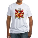 Ithel Family Crest Fitted T-Shirt