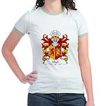 Ithel Family Crest Jr. Ringer T-Shirt