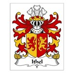 Ithel Family Crest Small Poster