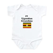 #1 Ugandan Grandma Infant Bodysuit