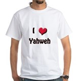 I Love (Heart) Yahweh Shirt