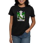 Hooton Family Crest Women's Dark T-Shirt