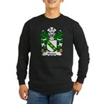 Hooton Family Crest Long Sleeve Dark T-Shirt