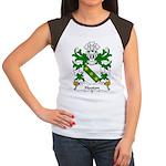 Hooton Family Crest Women's Cap Sleeve T-Shirt
