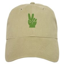 Green Hand of Peace Cap