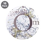 "Om 3.5"" Button (10 pack)"