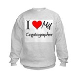 I Heart My Cryptographer Sweatshirt