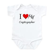 I Heart My Cryptographer Infant Bodysuit
