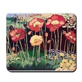 Cute Painted flowers Mousepad