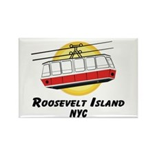 Roosevelt Island Tram Rectangle Magnet