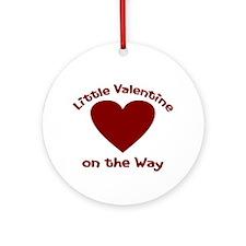 Little Valentine Ornament (Round)