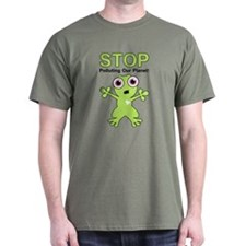 Stop Polluting! T-Shirt