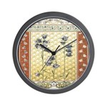 Asian Tranquility Wall Clock