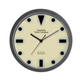 Classy Art Deco Wall Clock