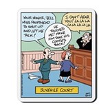 Juvenile Court Mousepad