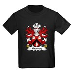 Gronwy Family Crest Kids Dark T-Shirt