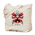 Gronwy Family Crest Tote Bag