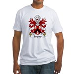 Gronwy Family Crest Fitted T-Shirt