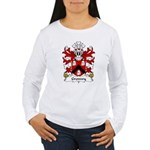 Gronwy Family Crest Women's Long Sleeve T-Shirt