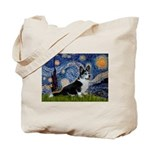 Starry Night / Welsh Corgi(bi Tote Bag