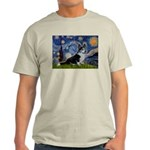 Starry Night / Welsh Corgi(bi Light T-Shirt