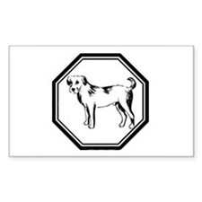 Year Of The Dog Rectangle Decal