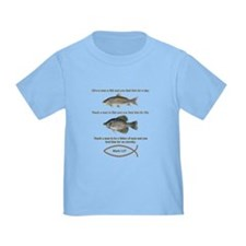 Gone Fishing Christian Style T